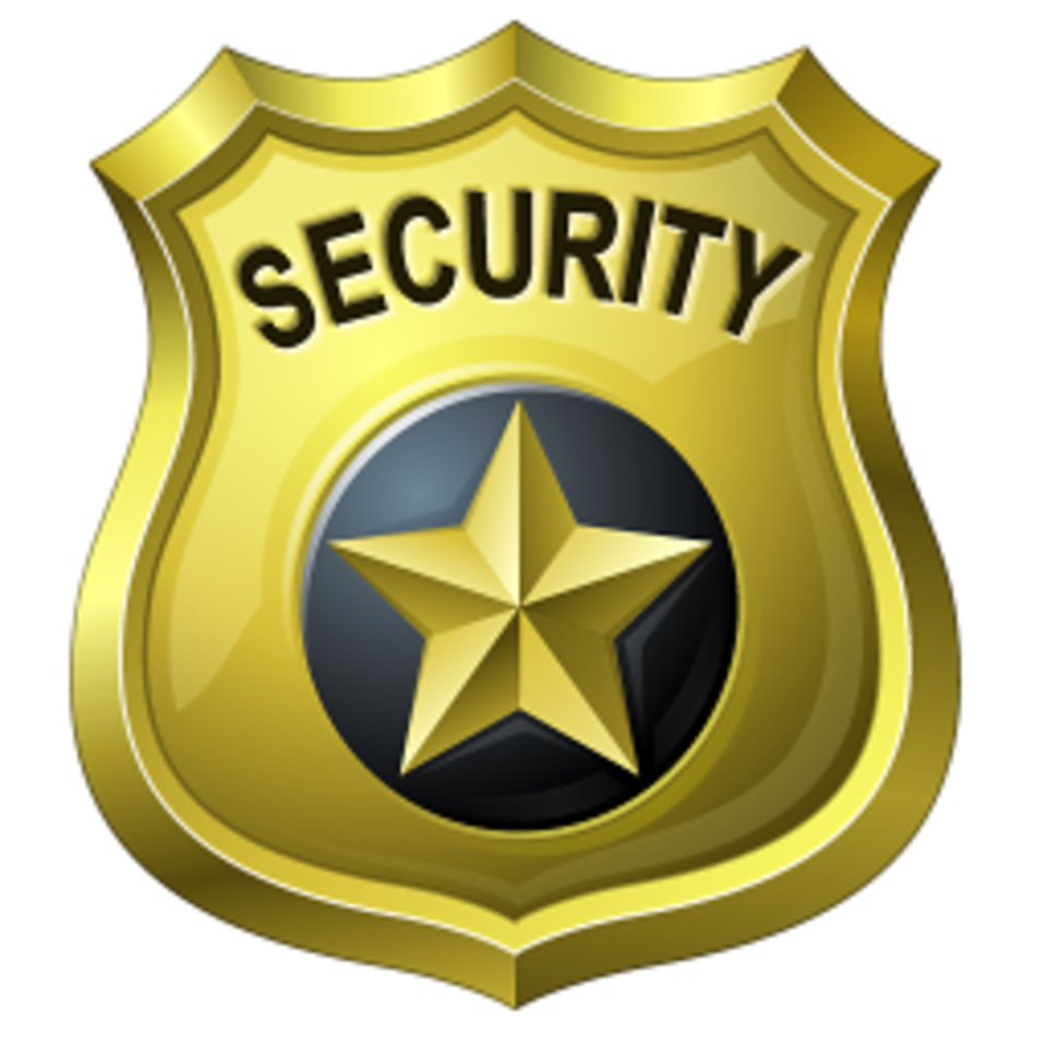 Security badge png. Contract guard sales clarity