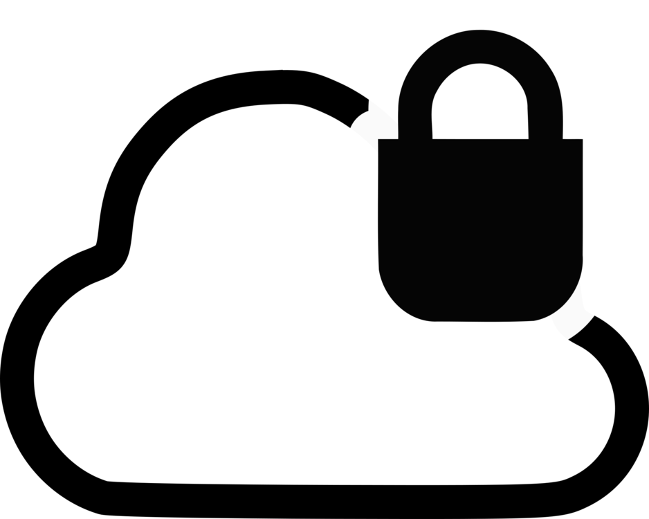 Security clipart cloud security. Computing computer icons internet