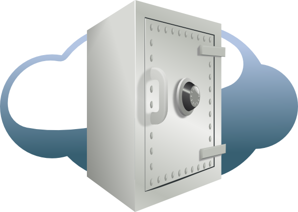 Security clipart cloud security. Clip art at clker