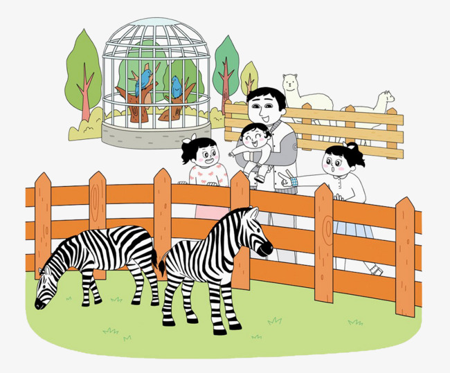 Zoo clipart zebra. Family to see the