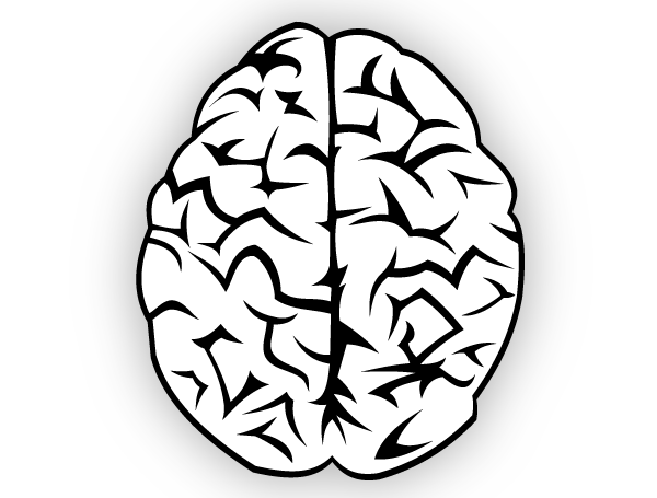 See clipart vector png. Brain silhouette at getdrawings