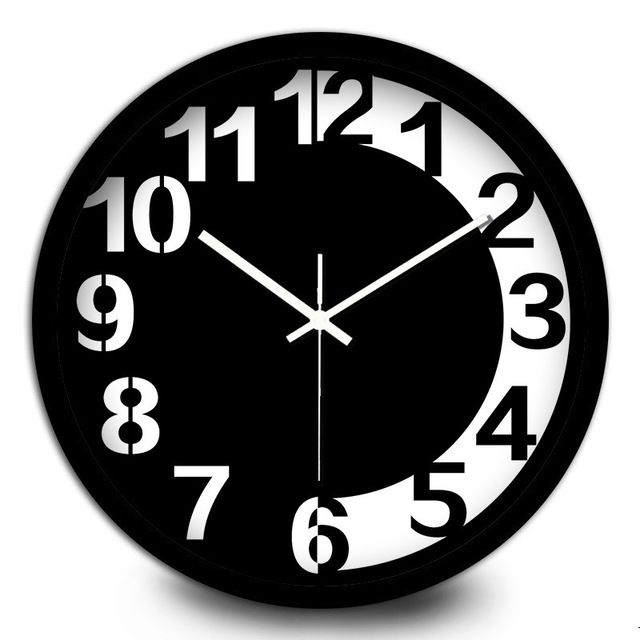 See clipart wall watch. Promotion price creative black