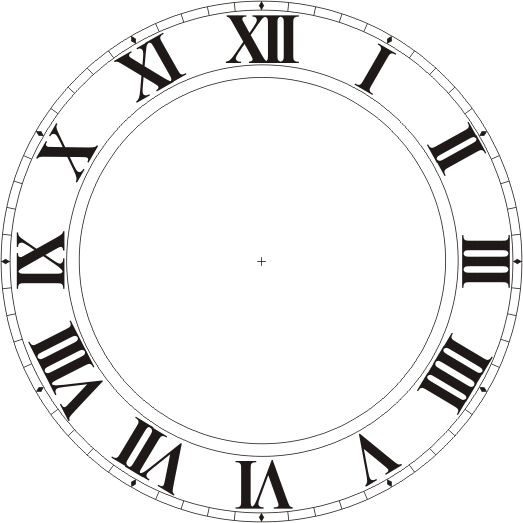 See clipart watch dial. Best clocks printable