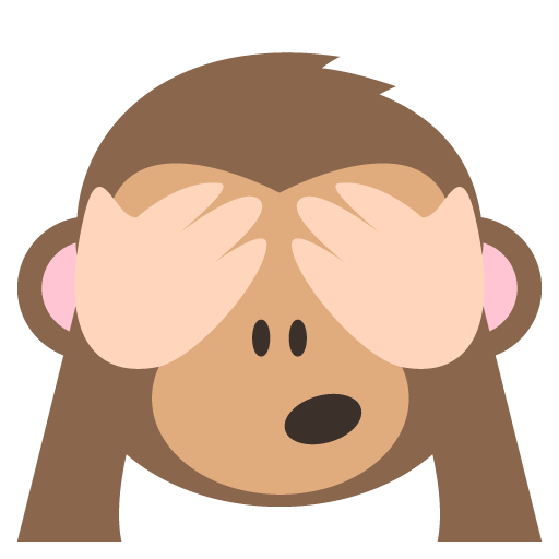 Hear no evil png. See monkey emoji for