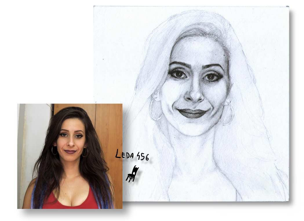 Dc drawing realistic. Wip portrait self project