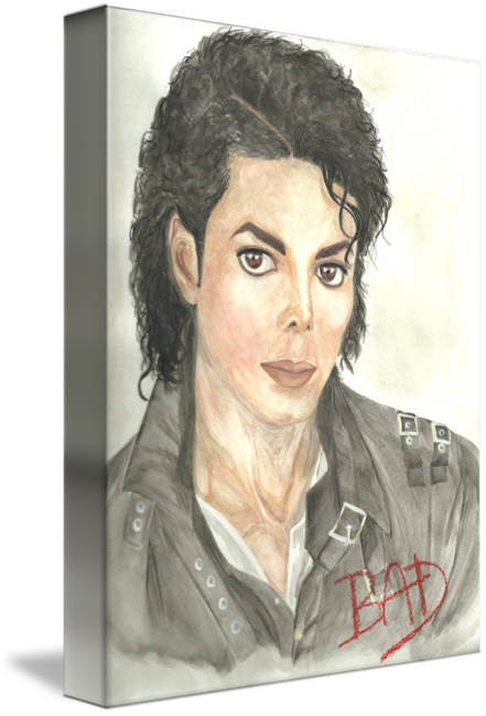 Portraits drawing bad. Michael jackson by nicole