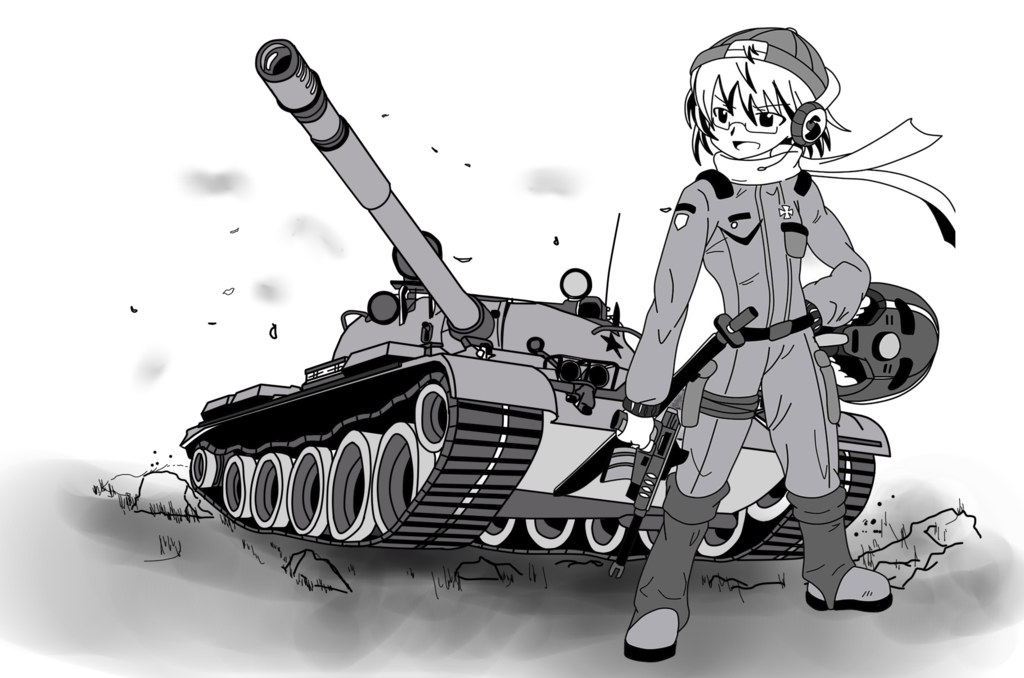 Self drawing cool. Tank crew try to