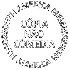 Popular and trending stickers. Selo south america memes png banner black and white stock