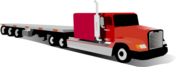 Truck clipart container truck. Clip art at clker