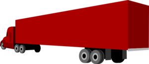 Trailer clipart big truck. And clip art at