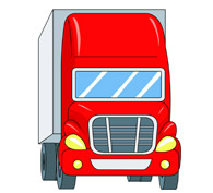 Semi clipart container truck. Free clip art pictures