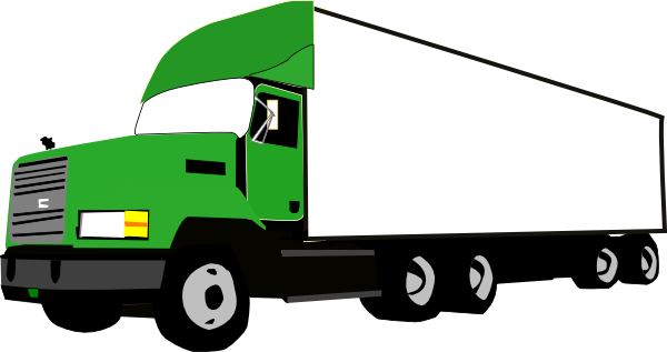 trucking vector truck head