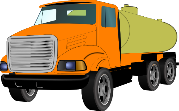 Semi drawing transport truck. Free diesel cliparts download