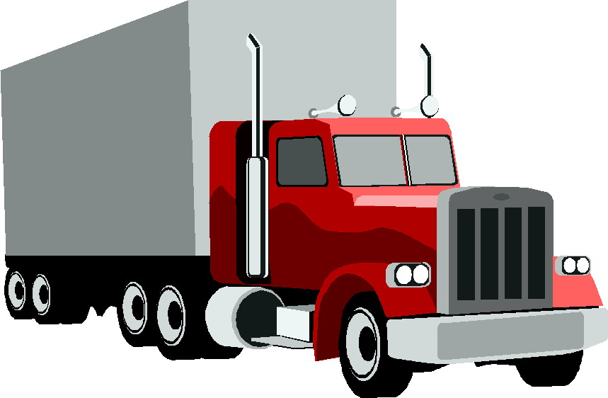 Semi clipart lory. Clipground freight clip art