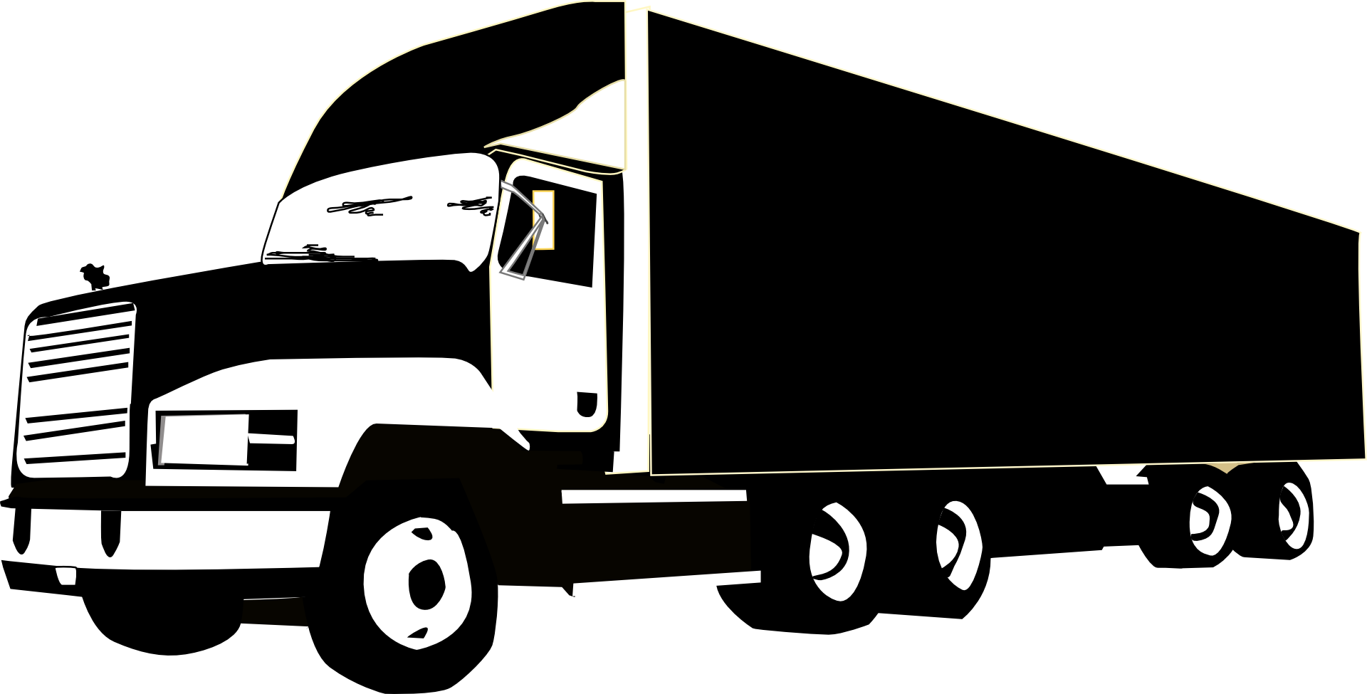 Trucking vector truck usa. Semi clipart indian frames