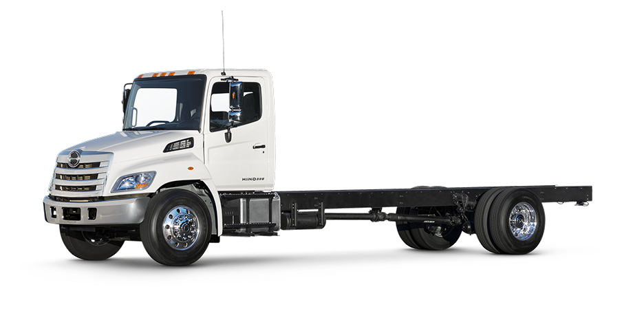 Trucking vector truck usa. Light medium duty trucks