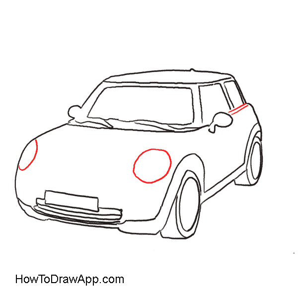 Semi drawing easy. How to draw a