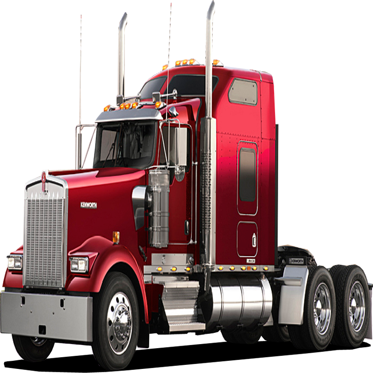 Semi drawing freightliner truck. Best companies for cdl