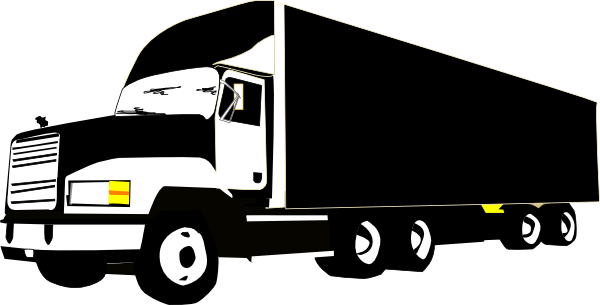 Semi drawing mack truck. Clip art at clker