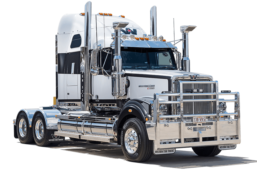 Semi drawing western star truck. Photos of trucks full