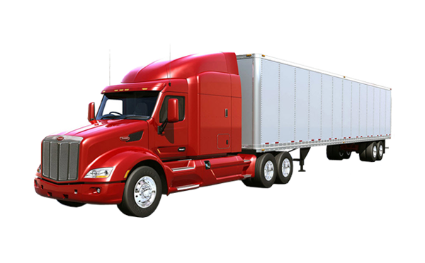 Trucking vector trailer truck. Free semi icon png