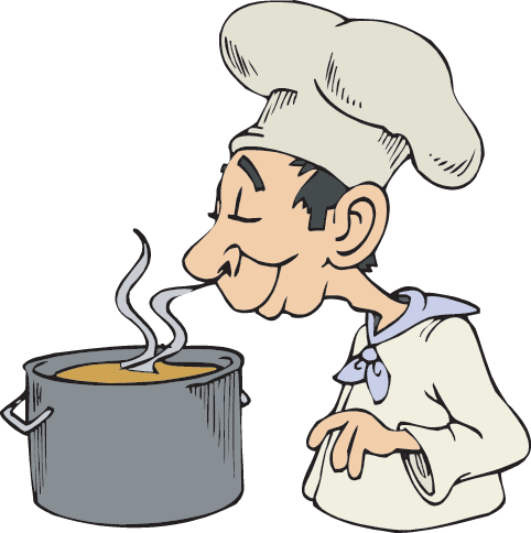 Senses clipart food smell. Five facts science trek