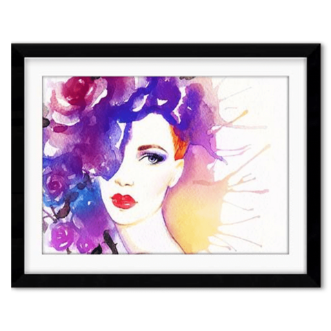 Sensual drawing framed. Catalogue tagged adult theme