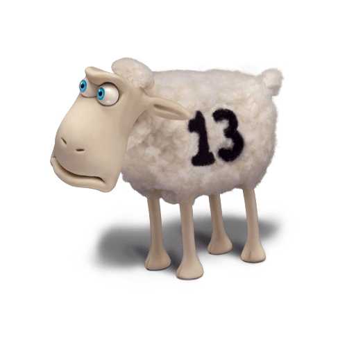 Drawing sheep profile. Meet the serta counting