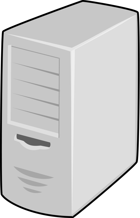 Computer icon free and. Server icons png svg royalty free