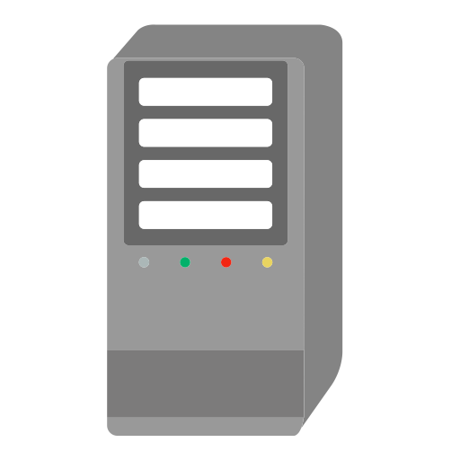 Icon with and vector. Server icons png clipart black and white library