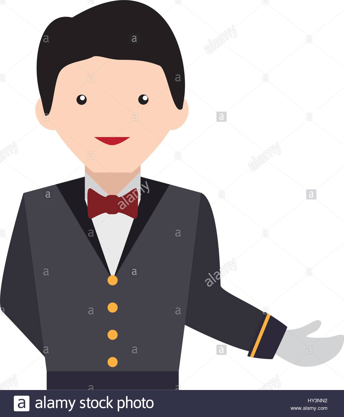 Waiter service vector icon. Catering clipart pizza chef banner transparent