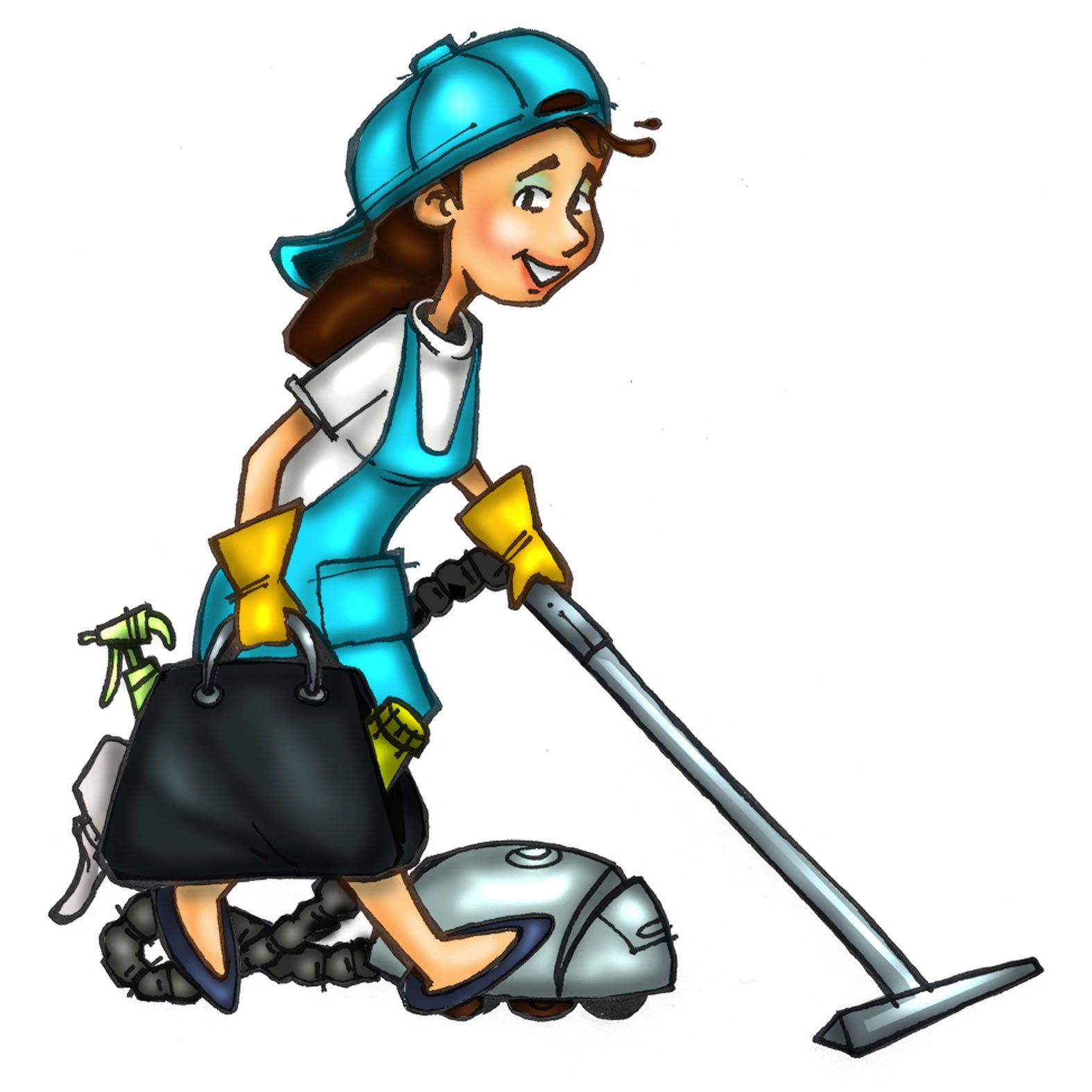 Cleaner clipart cleaning lady. Pictures of maids cliparts