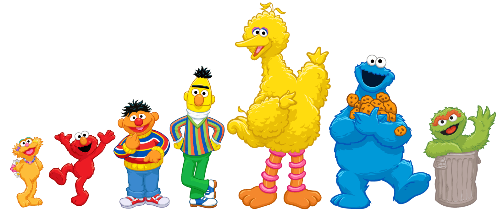 Sesame Street Babies Invitations Backgrounds Png Picture