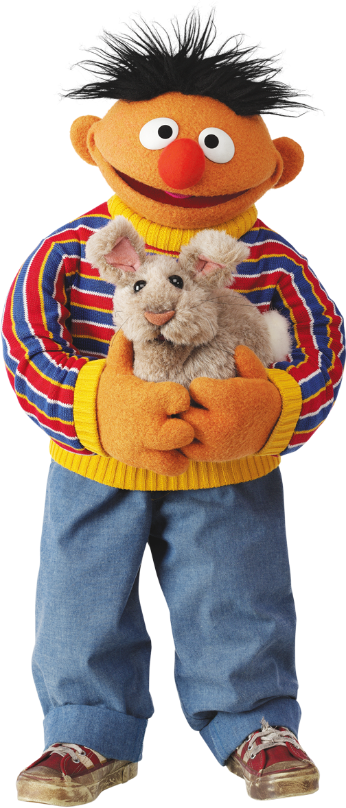 Sesame street character png. Image ernieandabunny muppet wiki