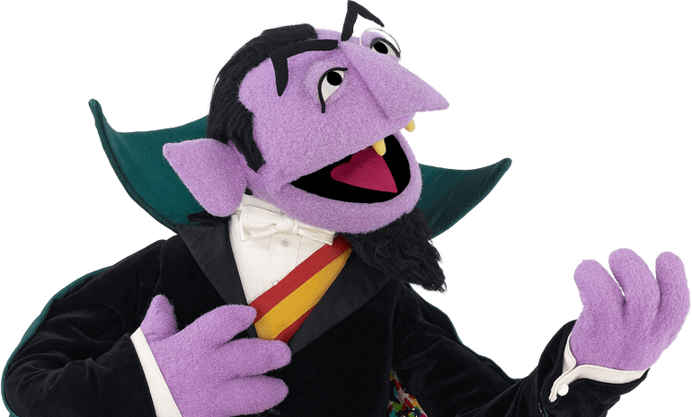 Sesame street count png. Census should not collect