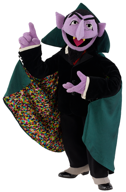 Sesame street count png. Image von monster moviepedia