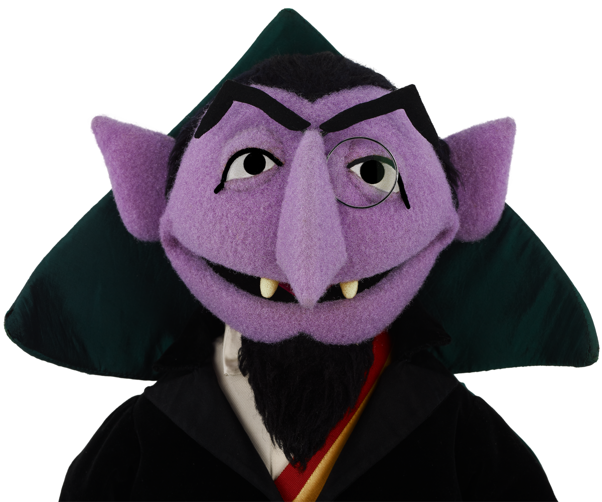 Sesame street count png. Top vampires the young