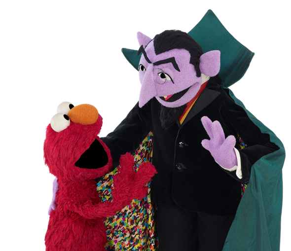 Sesame street count png. Math explore the tools