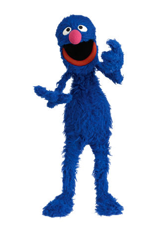 sesame street grover png