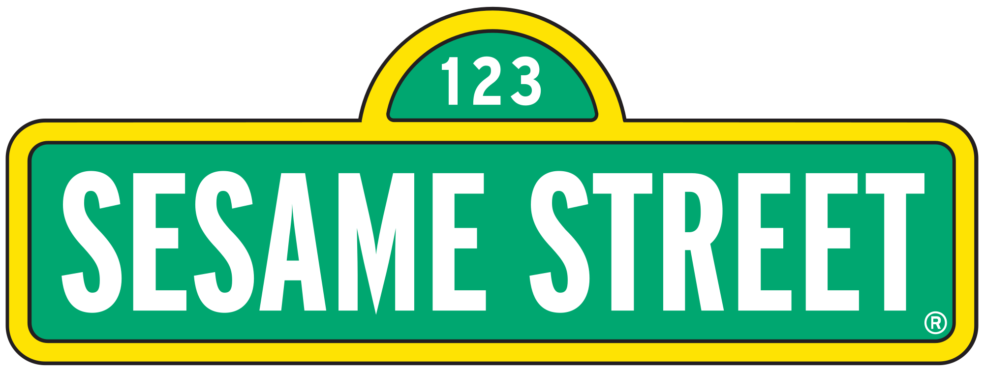 Sesame street sign png. File svg wikimedia commons