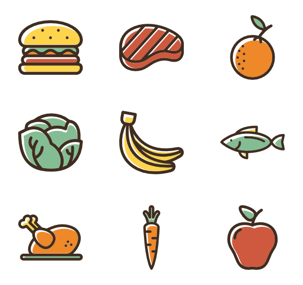 healthy vector art