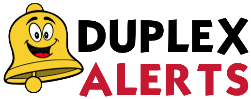 Setting clipart duplex. Additional considerations alerts