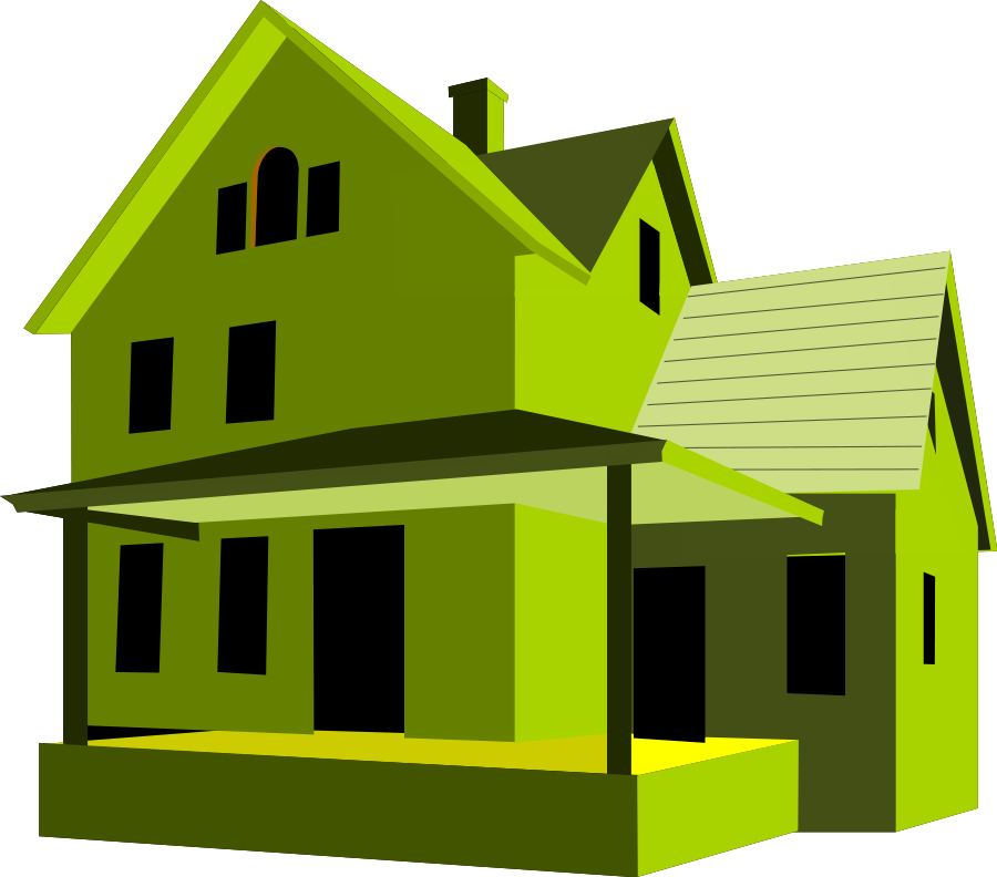 homes vector green
