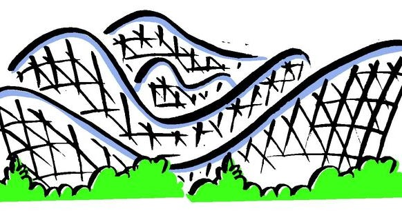 setting clipart roller coaster