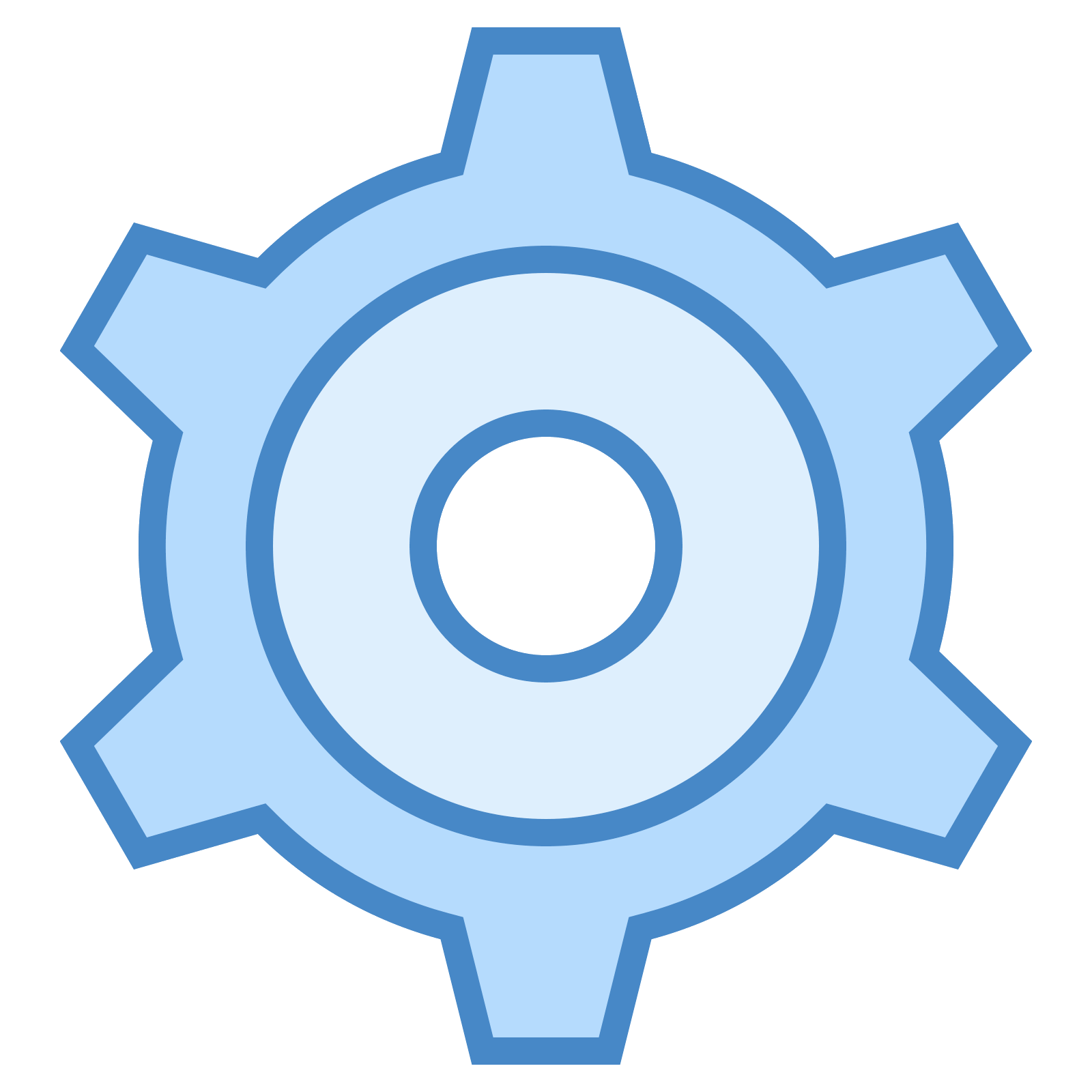 Settings vector blue. Icon free download png