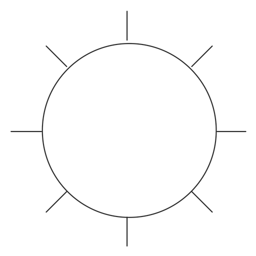 Settings vector line. Instagram icon transparent png
