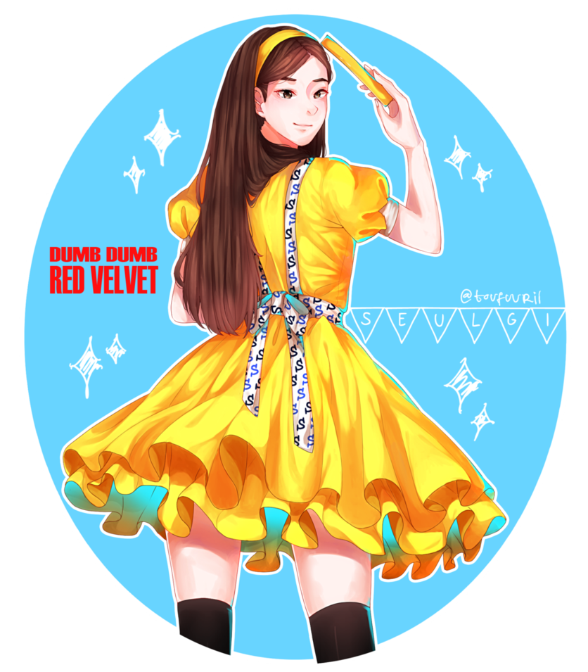 By toufuuri on deviantart. Seulgi drawing pastel clip black and white library