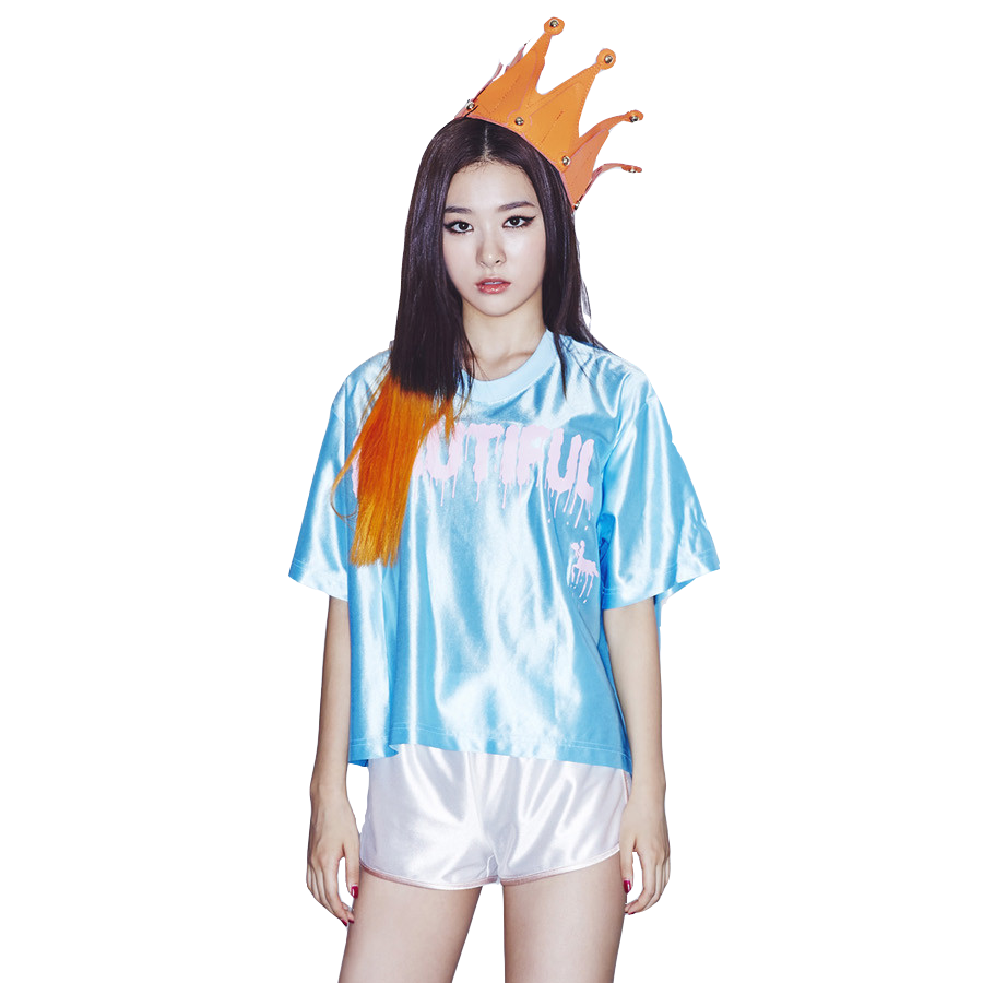 Png by poppysonchan on. Seulgi drawing cut image black and white library
