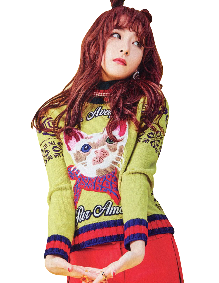 Png stickers transparent kpop. Seulgi drawing cut banner black and white stock