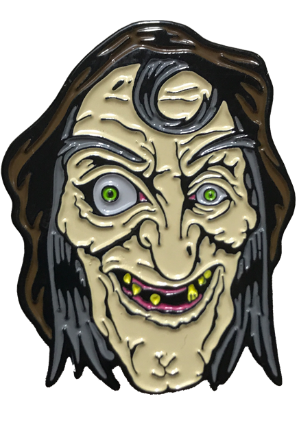 Sewer drawing haunted. Sea hag witch enamel